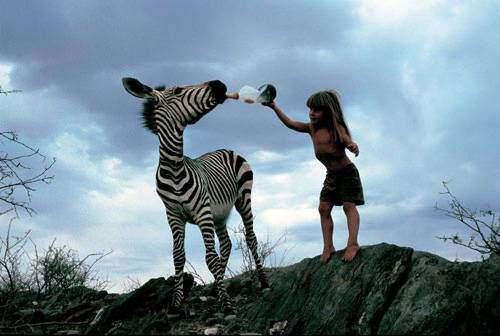 Девочка из Намибии, понимающая язык животных. ФОТО