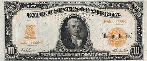 История американского доллара в ФОТО. Не распечатывайте!