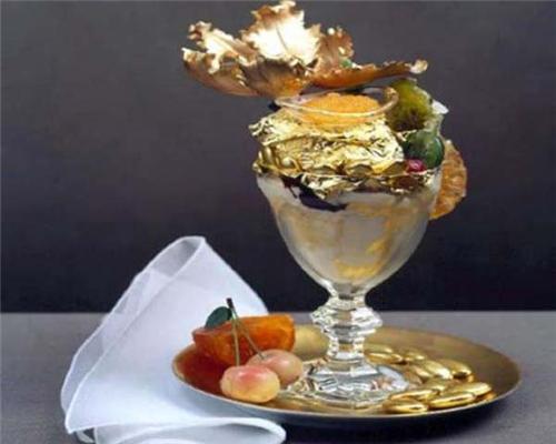 Приємного апетиту: Золота їжа, $ 1000 за порцію. ФОТО