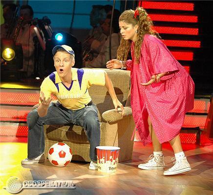 """Анатолій Кінах привів доньку на """"Танці з зірками-3"""""""