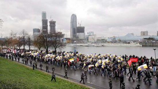 Російський Марш тільки для білих