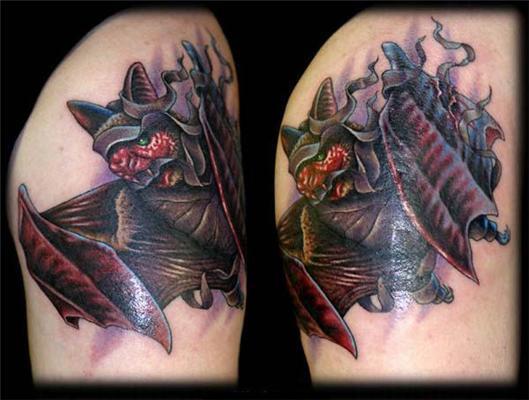 Майстерність і краса татуювання від Ніка Бакстера. ФОТО