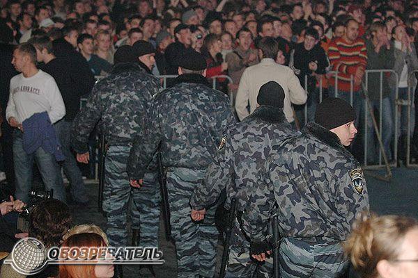 """""""Розривний"""" концерт Шнура і групи Ленінград"""