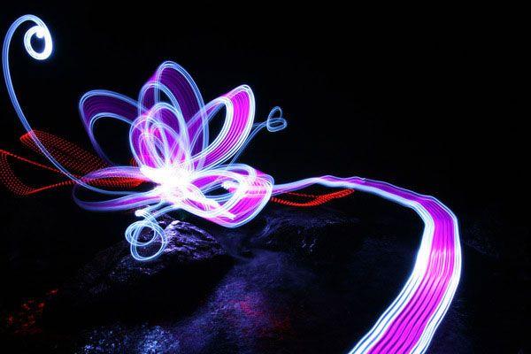 Приголомшливе світлове графитти! ФОТО