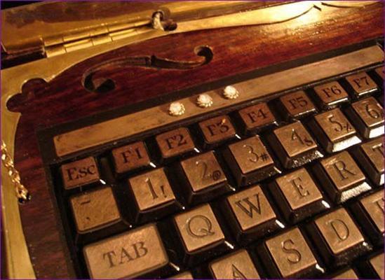 Антікварщікам: Відмінний модинг ноутбука. ФОТО