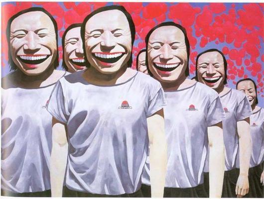 Ржунимагу от Yue Minjun. ФОТОприколы за миллионы