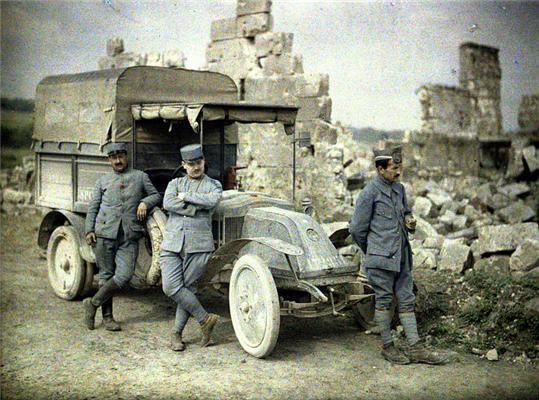 Оцветненные фотографии. Первая мировая война. ФОТО
