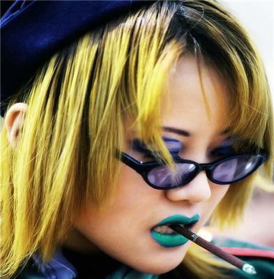 Сучасні гейші. Гангур: японочки-гламурніци. ФОТО