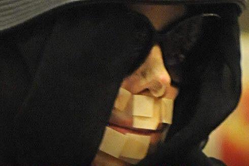Секрет пластыря на лице Джексона раскрыт. ФОТО