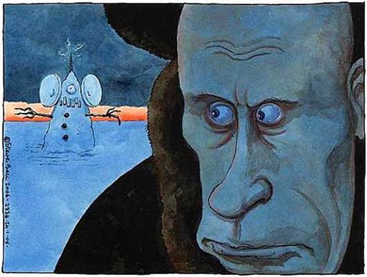 ПолітАктуально. Карикатури Святого. Путіна