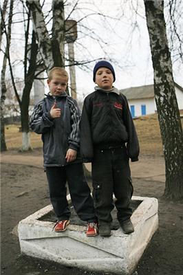 Школа-интернат. Село Комаровка, Черниговская область...