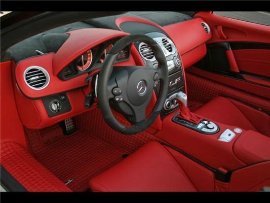 Mercedes SLR McLaren Brabus. Зверь-машина на 360 км/ч. ФОТО