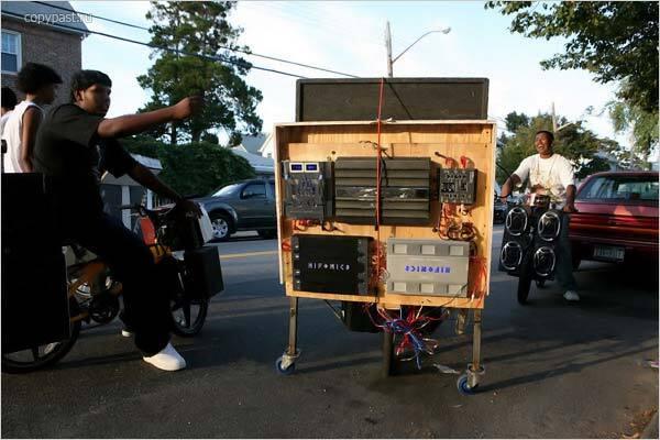 Навороченные лисапеды. Развлечение мажоров Тринидада. ФОТО