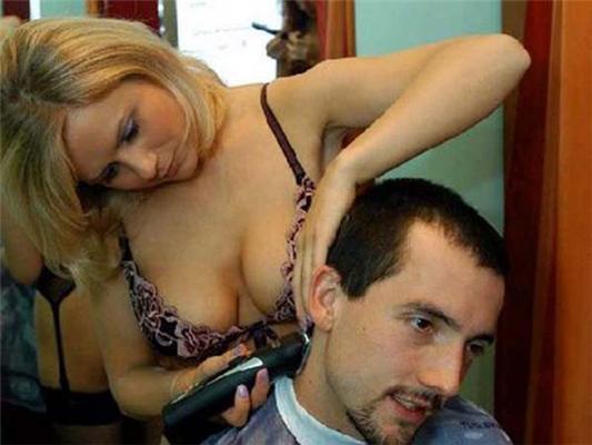 Настоящая МУЖСКАЯ парикмахерская в Польше. ФОТО