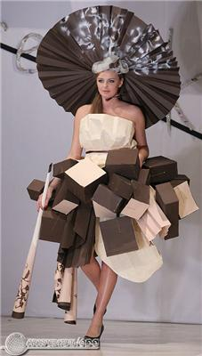 Польські дизайнери випустили модний одяг з ... паперу. ФОТО