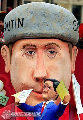 Як Путіна, Буша і Меркель натовп носила на руках