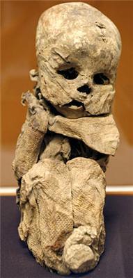 Мумія повертається. Жінка і дитина поховані живцем. ФОТО