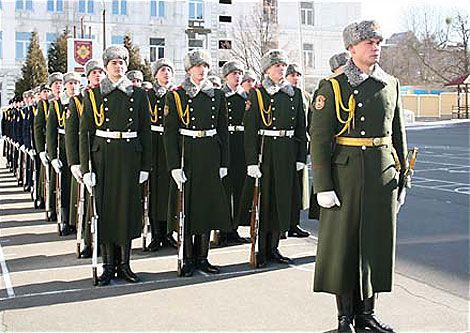 23 лютого присвячується ... Будні Президентського полку. ФОТО