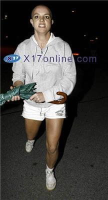 Оскаженіла Брітні Спірс власноруч розгромила джип