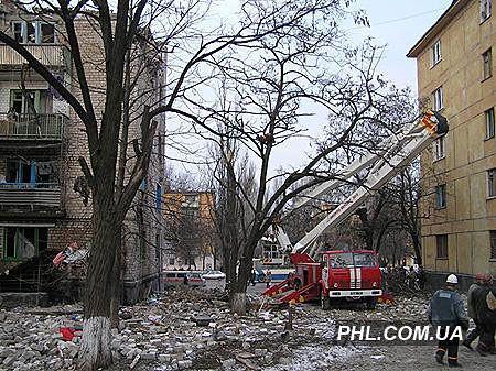 Вибух будинку в Кривому Розі. Фоторепортаж з місця події