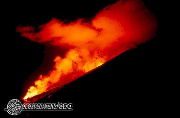 Виверження вулкана на Сицилії. Страшна краса. ФОТО