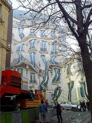 Городок под Парижем. Иллюзия? Нет, так построили! ФОТО