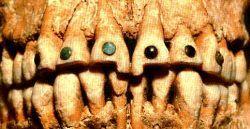 """Стародавній """"пірсинг"""" - у стилі майя. ФОТО"""