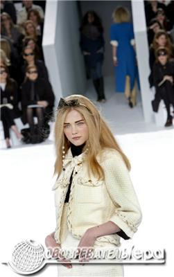 Легендарний будинок Шанель представив колекцію haute couture