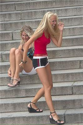 Подсмотренное у городских девушек-красавиц. ФОТО