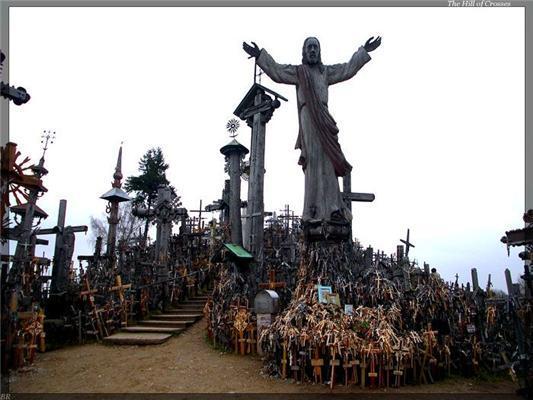 """""""Бачиш, там на горі височить хрест?"""" ГОРА хрестів. ФОТО"""