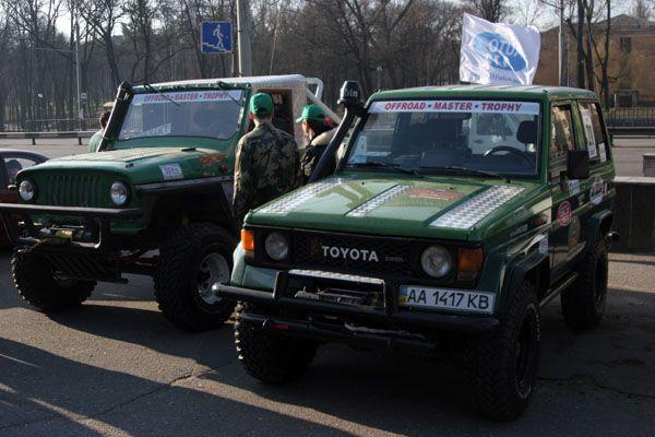 Танкове наступ під Києвом. Фоторепортаж