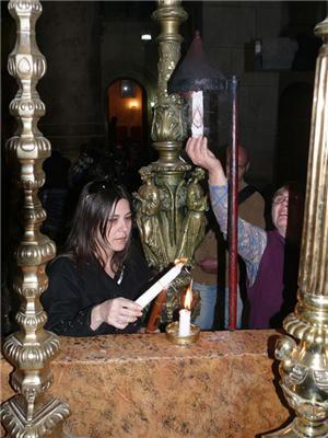 Анжеліка Рудницька побувала там, де воскрес Ісус