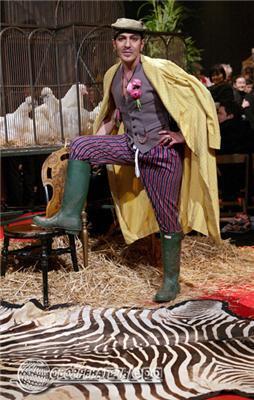 Модна колекція від короля кітчу Джона Гальяно. ФОТО