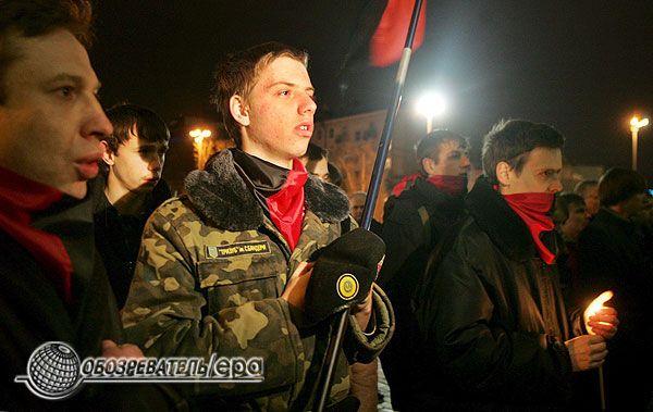 Акція пам'яті головнокомандувача УПА Романа Шухевича. ФОТО