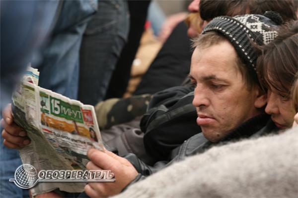 Мистер Бин на отдыхе. Лица нового «Майдана». ФОТО