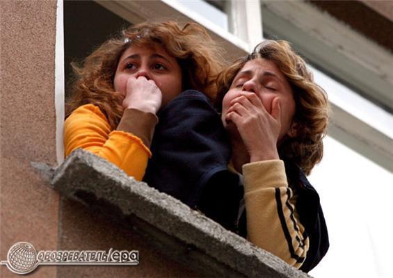 В Стамбуле рухнул восьмиэтажный дом. Фоторепортаж