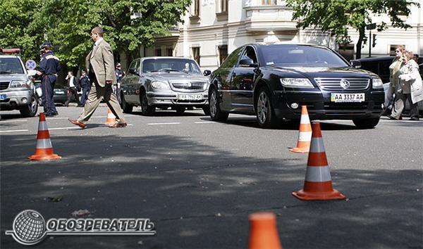 Народного депутата Омельченка збила машина. Фоторепортаж