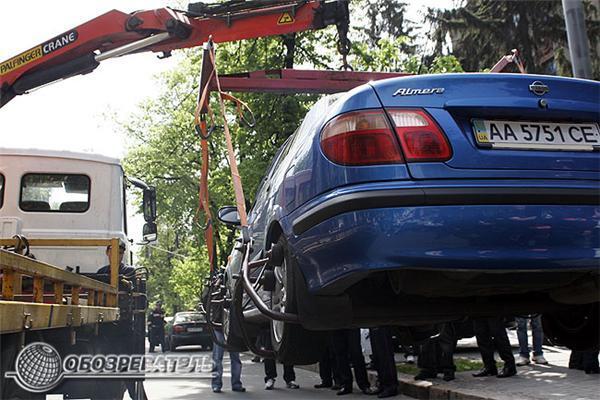 Народного депутата Омельченко сбила машина. Фоторепортаж