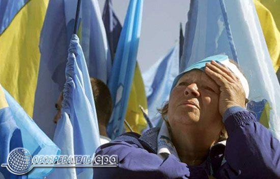 Біло-блакитні танці на Майдані. Фоторепортаж