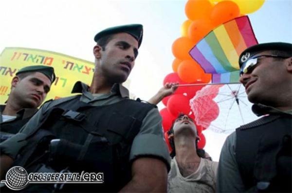 Гей-парад - в ИЗРАИЛЕ! Фоторепортаж