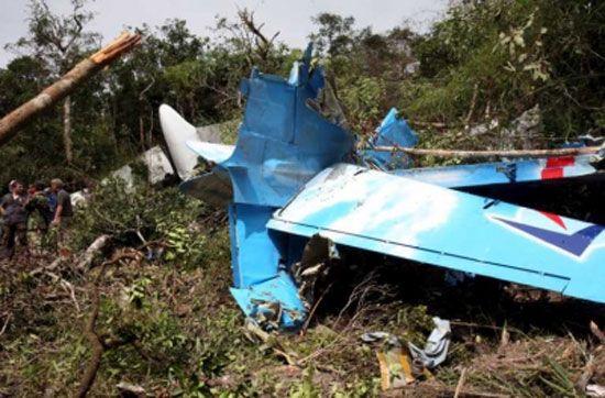 У Камбоджі розбився літак