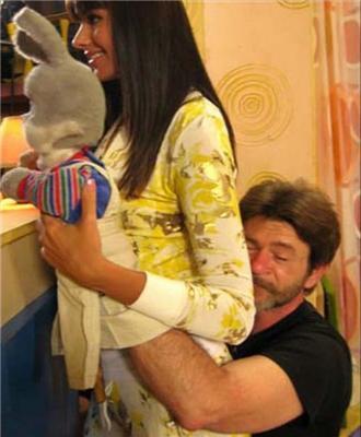 На добраніч, малюки, з Оксаною Федоровою. Вид ззаду. ФОТО