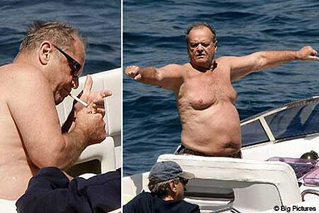 70-річний Джек Ніколсон розважився з дівчатами на яхті. ФОТО