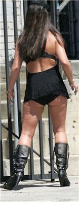 Брітні Спірс у вуалі продемонструвала свій зад попарацции