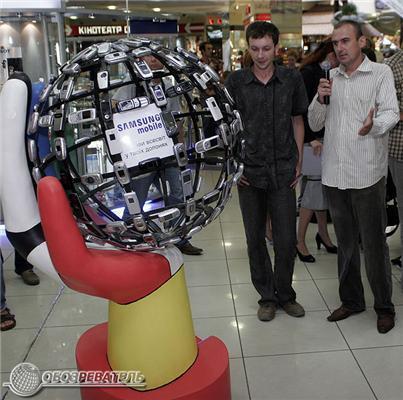 """Перша в Україні """"мобільна"""" скульптура. ФОТО"""