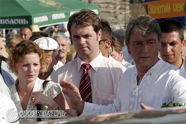 Президент Ющенко відзначив День пасічника в Пирогово. ФОТО