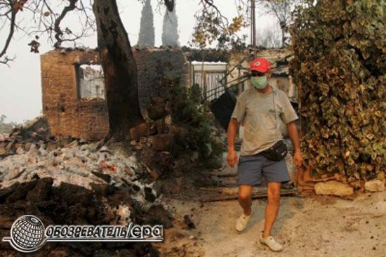 У Греції через пожежі загинули 60 людей
