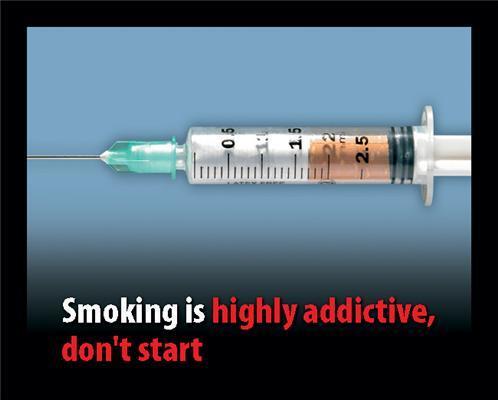 На пачках сигарет з'являться страшилки в картинках. ФОТО