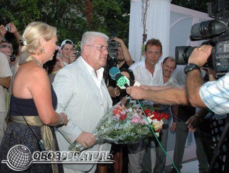 Віктор Ющенко подарував Софії Ротару ікону. Фоторепортаж