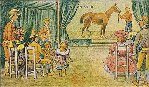Як у 1910 французи мріяли про 2000 рік. ФОТО